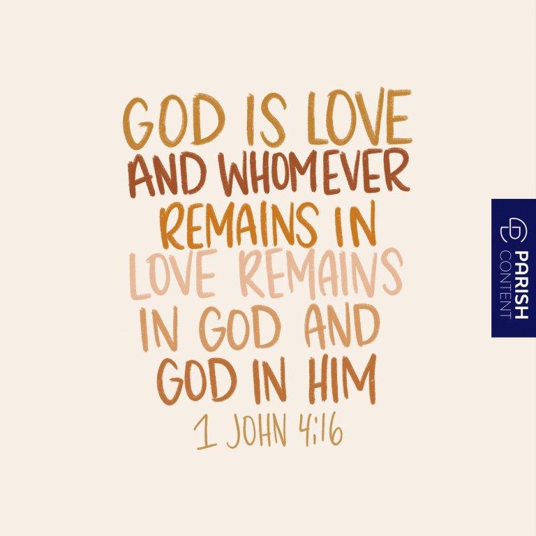 Socialpost God Is Love