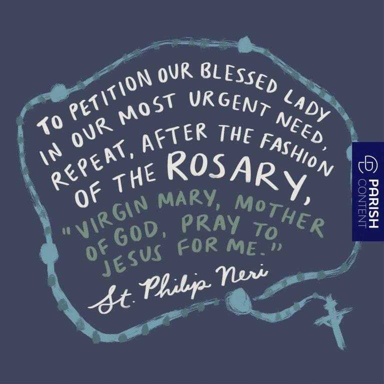 Socialpost St Philip Neri Feast Day