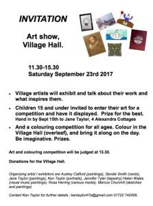 Quidhampton Art Show, September 2017 @ Quidhampton Village Hall | Quidhampton | England | United Kingdom