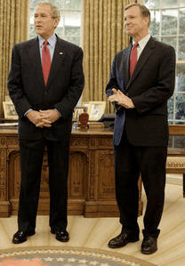 Christopher Cox with President Bush