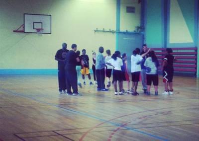 La première du Paris Lady Basket