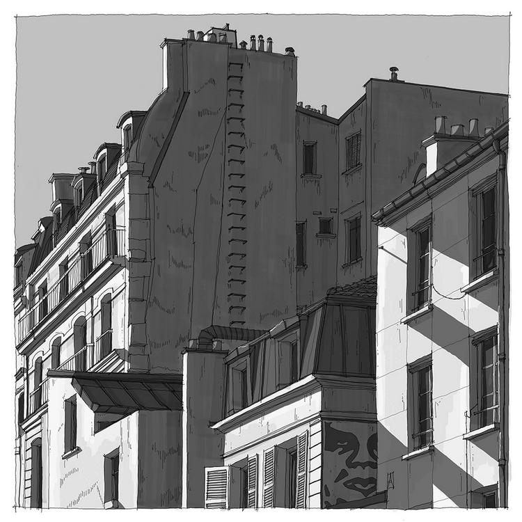 Rue Oberkampf, Paris 11° © Clément Gy