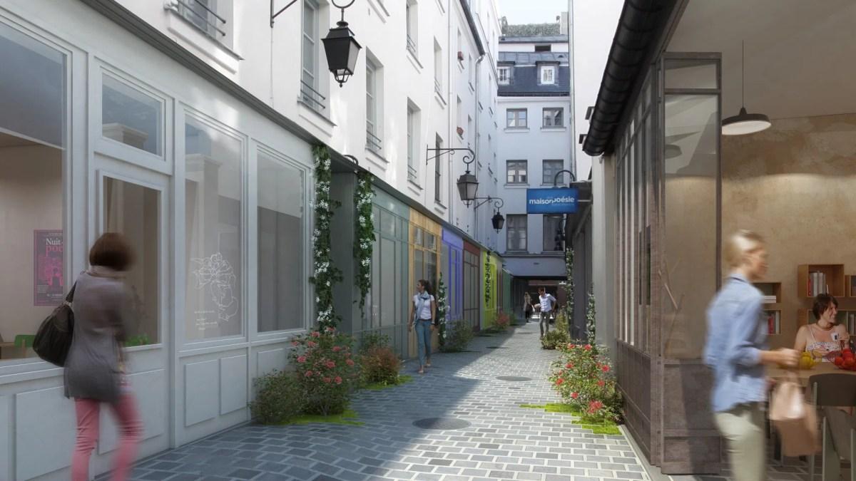 Six locaux destinés aux activités culturelles disponibles dans le passage Molière