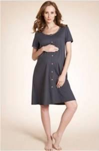 Chemise de nuit courte de grossesse