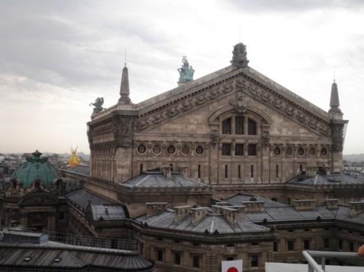 Paris depuis la terrasse des Galeries Lafayette