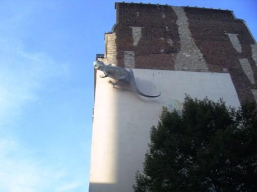 Salamandre géante de la rue Vitruve