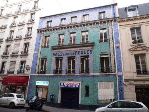 Société française des eaux minérales rue de Londres