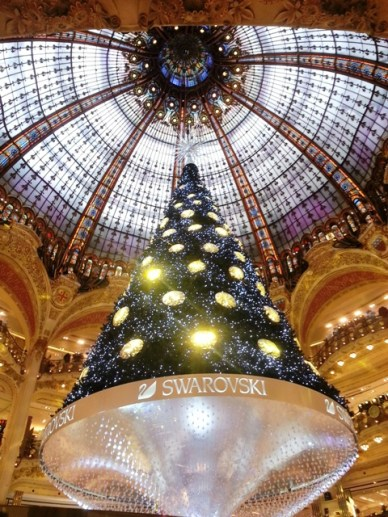 Sapins de Noël Galeries Lafayette 2012