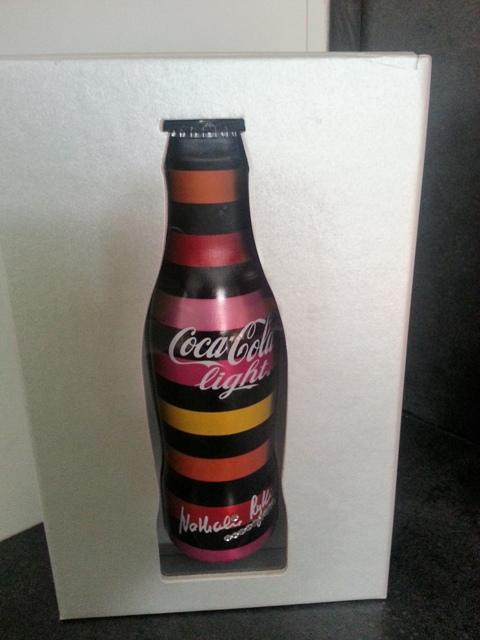 bouteilles de Coca-Cola Light