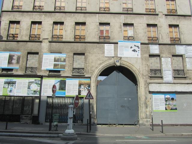 Entrée de la Dernière ferme de Paris