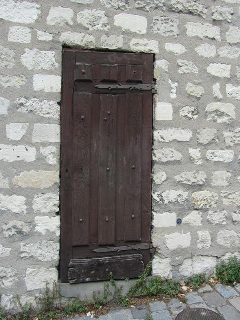Porte d'immeuble - Paris, Montmartre