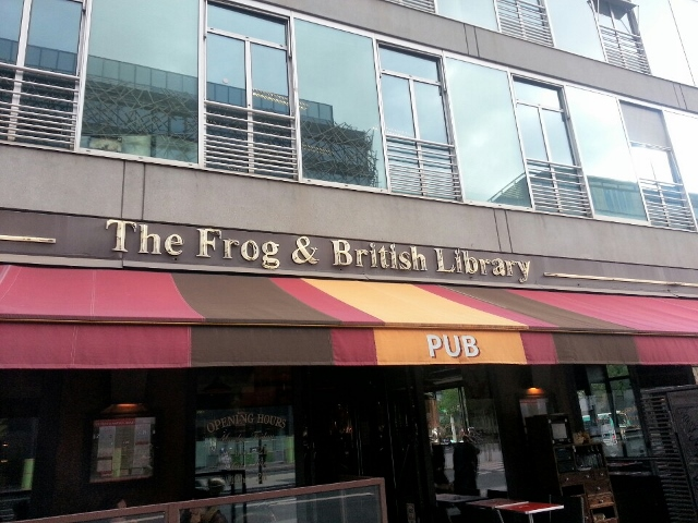 The Frog and British Library