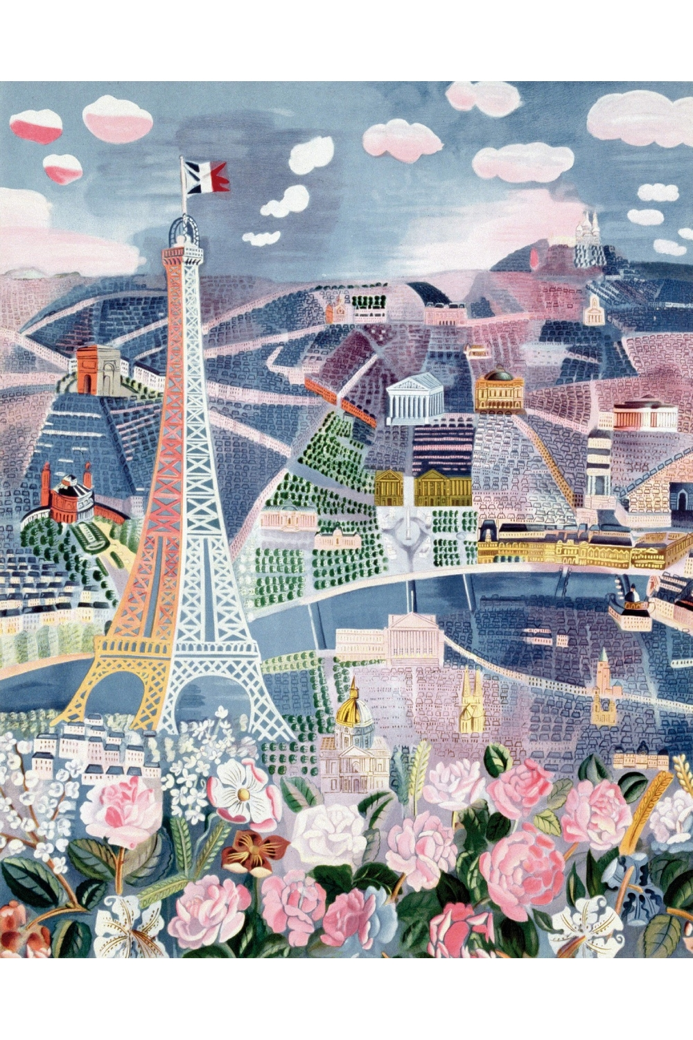 Paris au Printemps de Raoul Dufy
