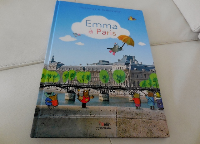 Emma à Paris -Belin Jeunesse
