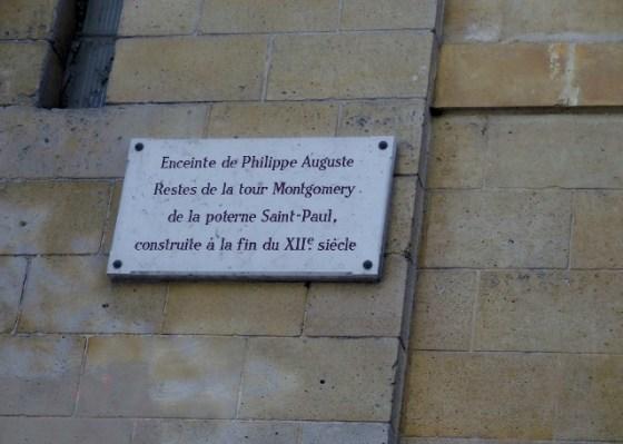 Enceinte de Philippe Auguste