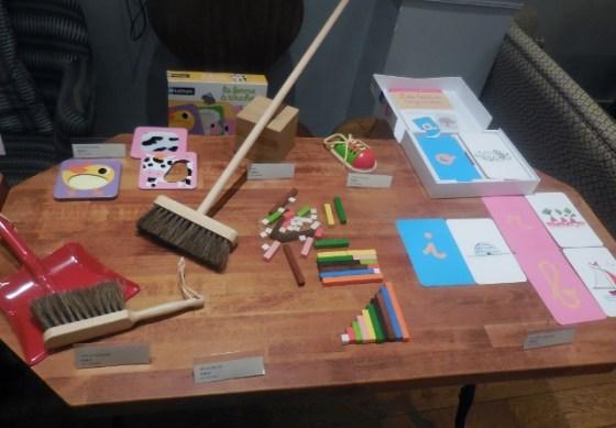 Matériel Montessori chez Nature et Découvertes