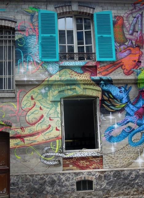 Parcours d'Art Urbain le long du Canal de l'Ourcq