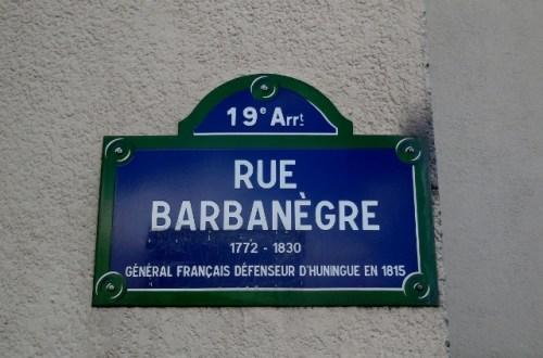 Rue Barbanègre
