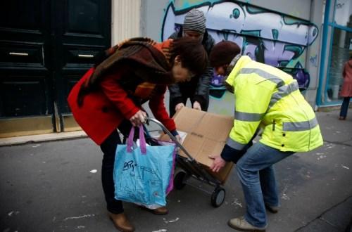 Les collectes solidaires Eco-systèmes-Emmaüs