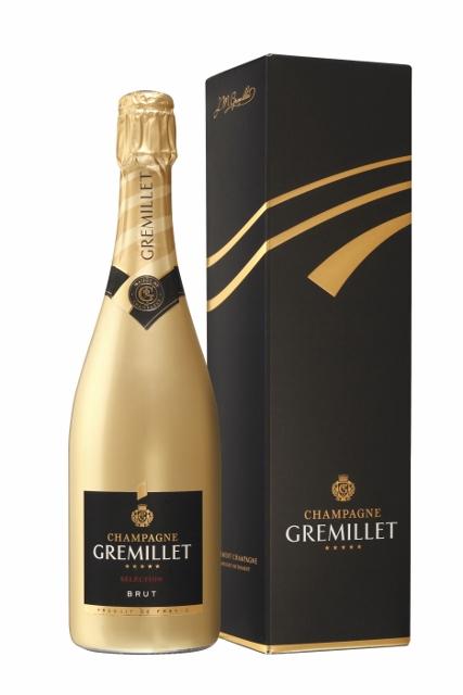 Champagne Gremillet en édition limitée