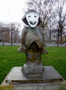 Les Enfants du Monde : des sculptures de Rachid Khimoune au Parc de Bercy