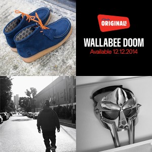 Wallabee Clarks MF DOOM