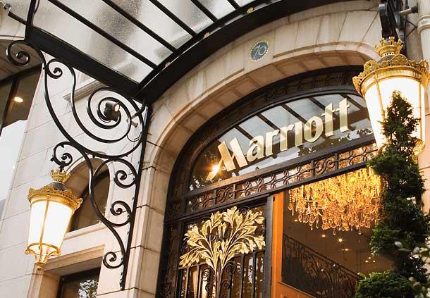 Galette Marriott Mauboussin sur les Champs Elysées