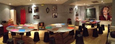 Les ateliers créatifs de l'Espace Dalí