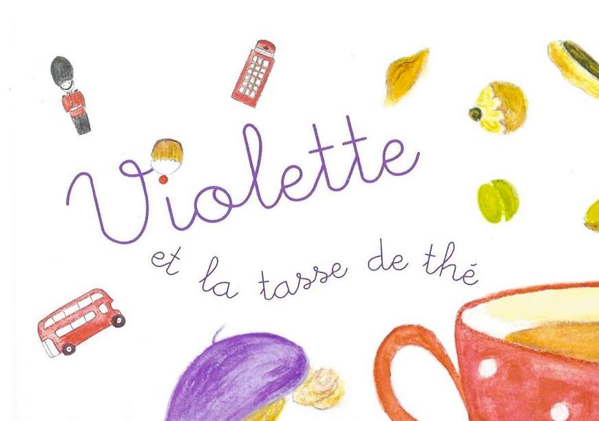 Violette et la tasse de thé