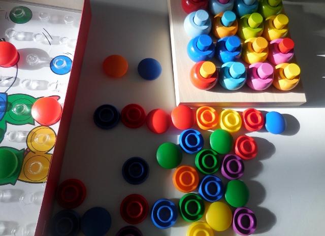 Colorino Ravensburger et Anneaux Multicolores Haba