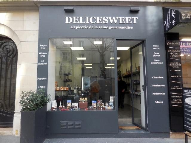 Delicesweet, l'épicerie de la saine gourmandise