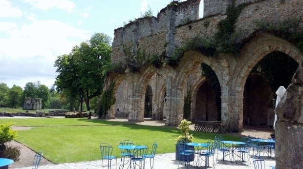 L'Abbaye de Vaux-de-Cernay