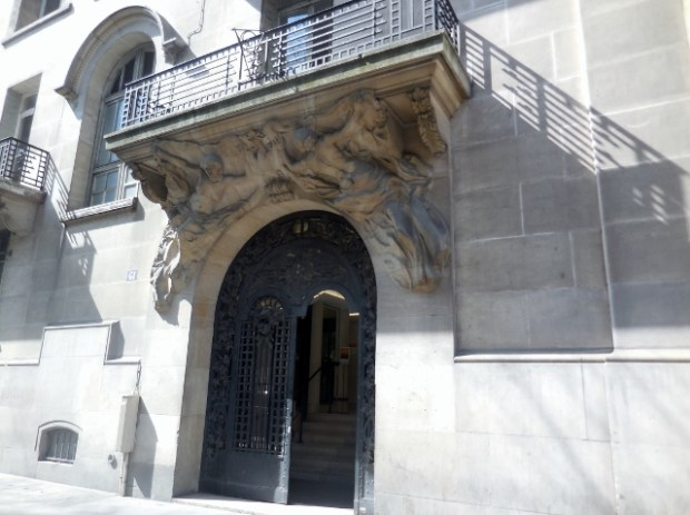 Anciens Hôtels particuliers rue des Archives