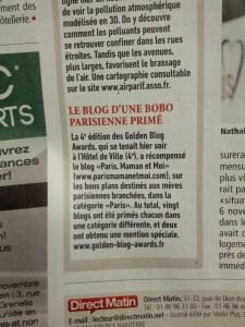 DIRECT MATIN - Presse