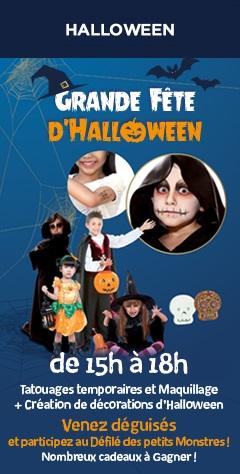 Halloween La Grande Récré Boulogne