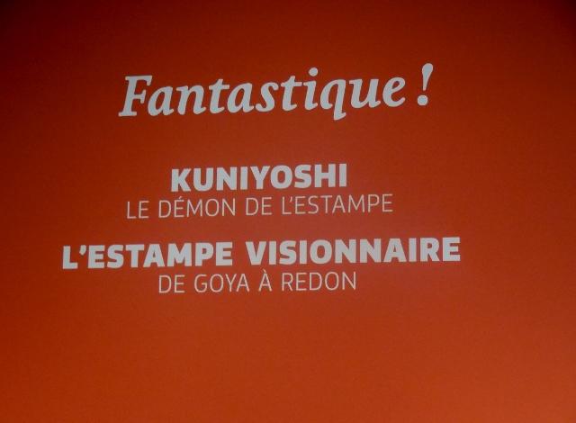 Kuniyoshi, le démon de l'estampe au Petit Palais (1)