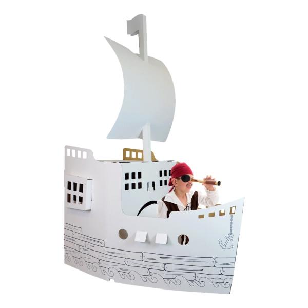 Cadeau enfant Bateau en carton Wiplii - Idée cadeaux