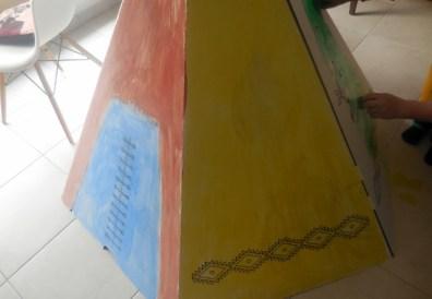 Tipi en carton Wiplii décoration (5)