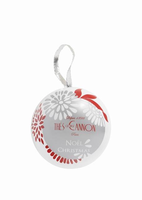 Boules de Noël Thé George Cannon blanche