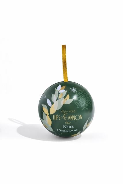 Boules de Noël Thé George Cannon verte