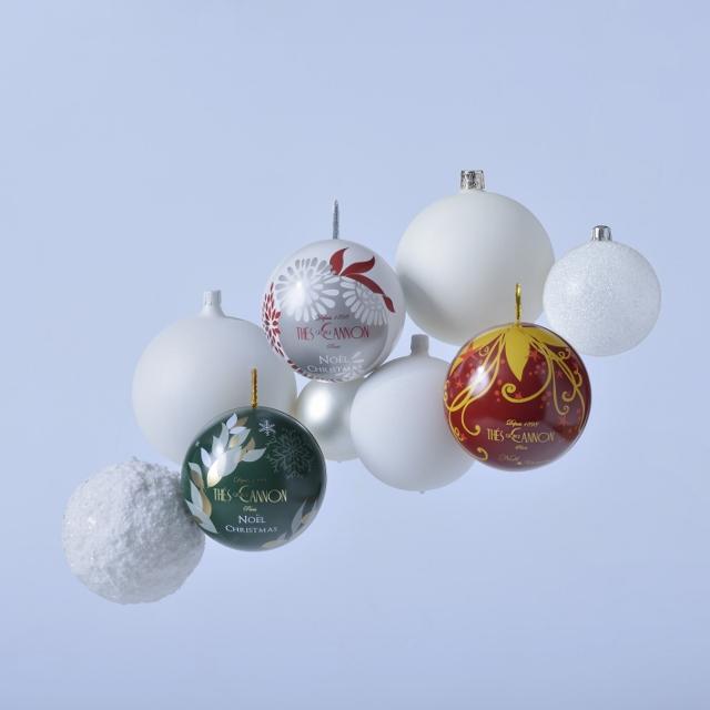 Boules de Noël Thé George Cannon