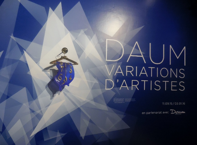 Daum Variations d'Artistes Espace Dali (1)