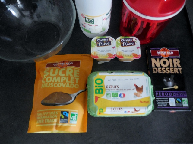Recette de Mousse au chocolat aux coings