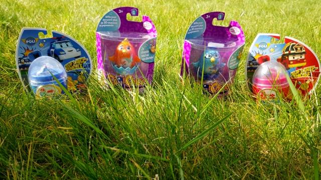 Enfants à Pâques œufs jouets Ouaps et Silverlit (3)