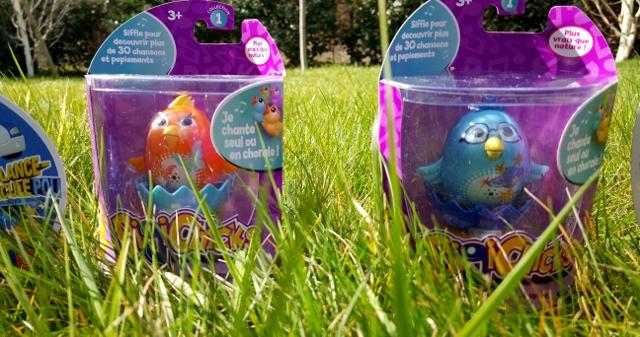 Enfants à Pâques œufs jouets Ouaps et Silverlit (4)