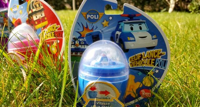 Enfants à Pâques œufs jouets Ouaps et Silverlit (5)