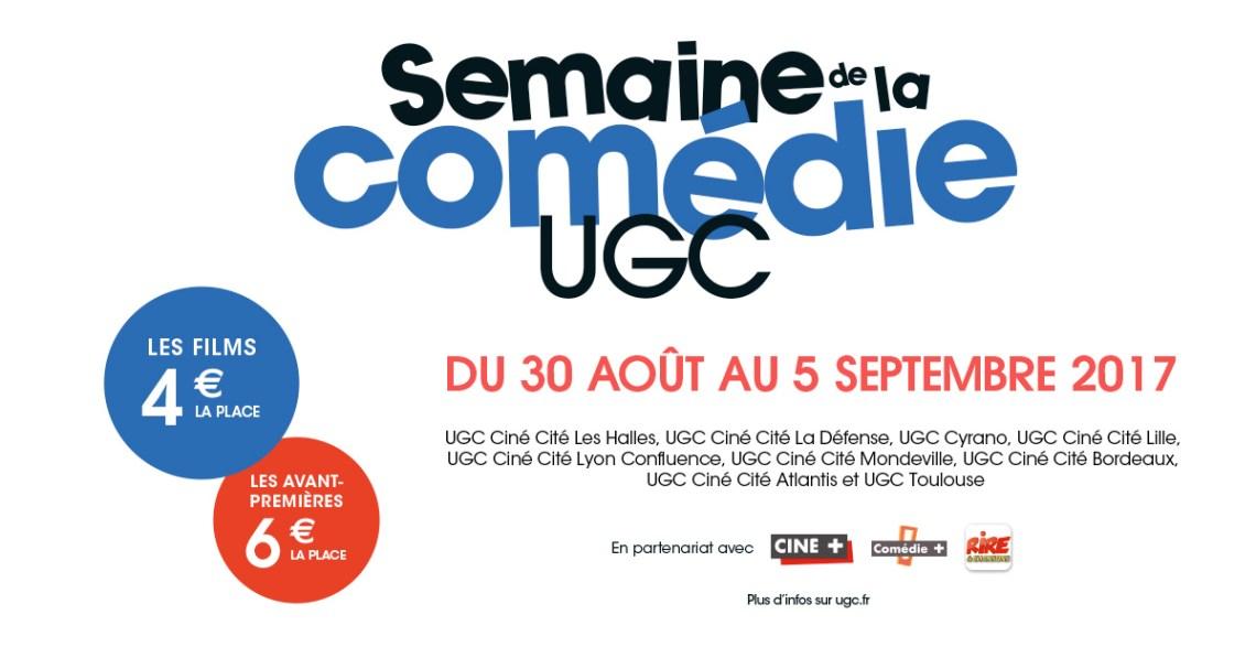 Semaine de la comédie UGC