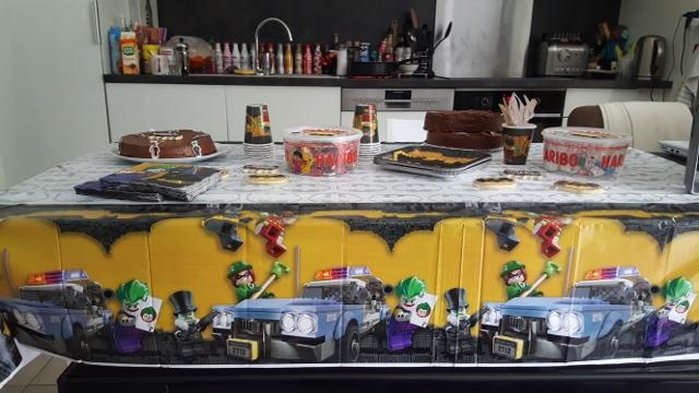 Anniversaire Lego Batman