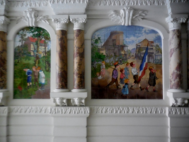 Céramique de Francisque Poulbot