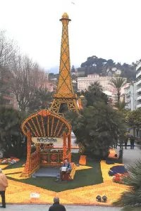 Menton Lemon Festival - Eiffel Tower